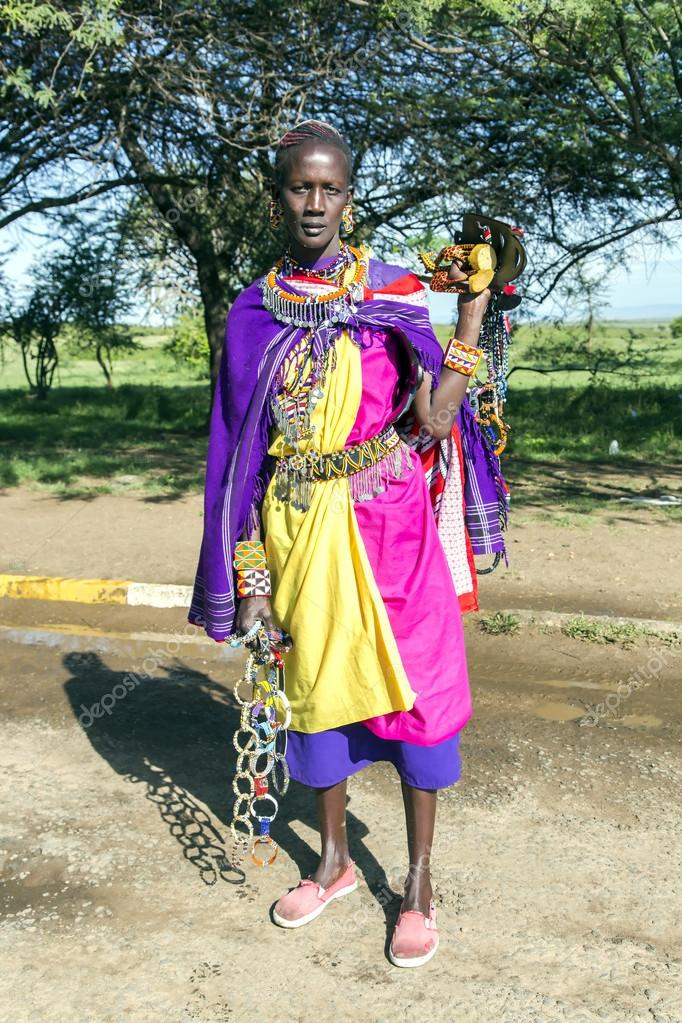 Schöne kenianische Damen