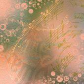 Fotografie Krásné abstraktní pozadí ve stylu médií s f