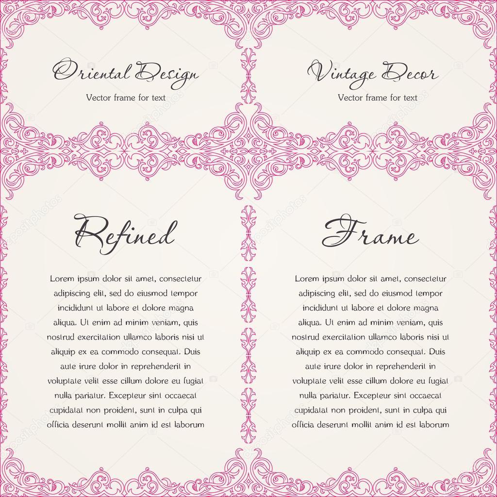 Background invitation vintage label floral frame vetor de stock background vector invitation vintage label floral frame vetor por extezy stopboris Choice Image