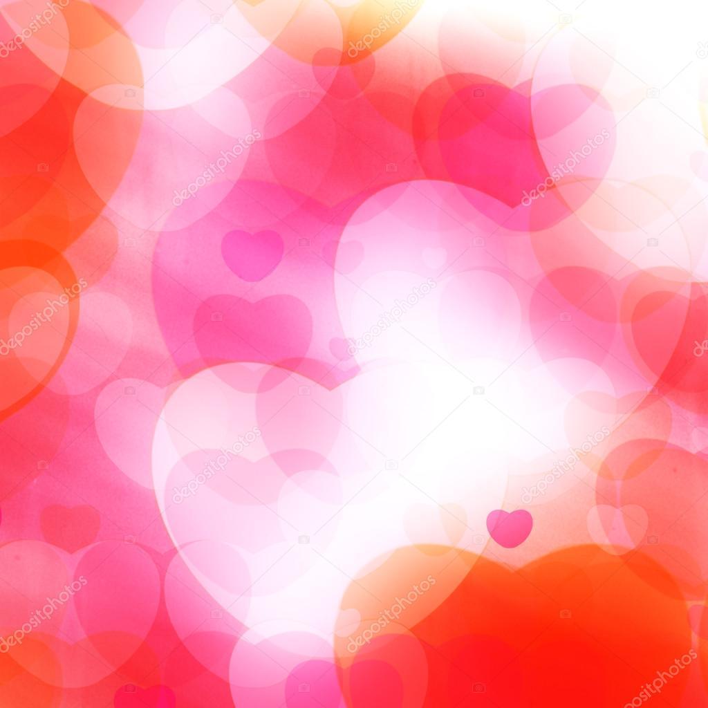 Heart Dreams Background Stock Photo