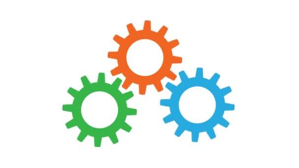 rotující ozubená kola týmové koncept