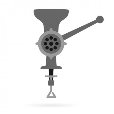 retro meat grinder