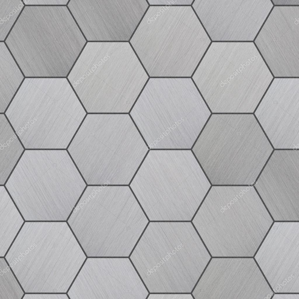 High Tech Tiled Aluminum Background Stock Photo