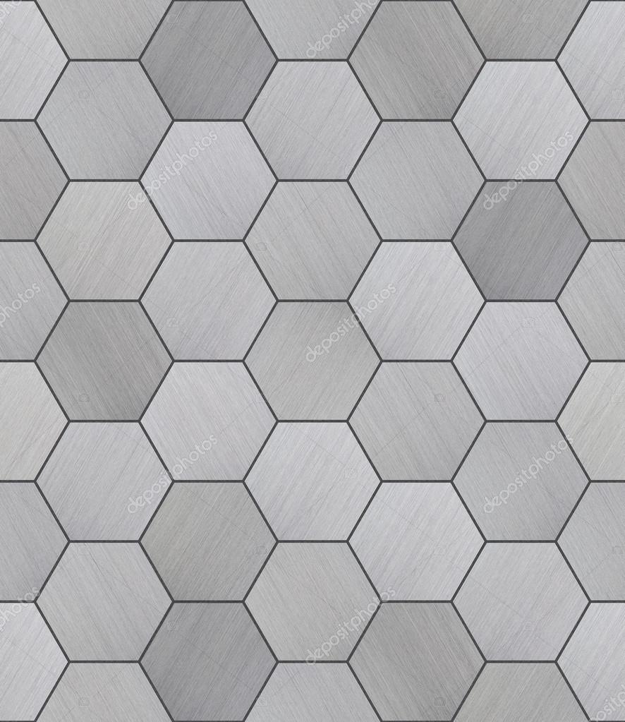 Textura transparente hexagonal aluminio baldosas fotos de stock digifuture 64845425 - Baldosas hexagonales ...