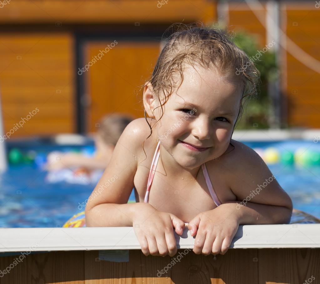Bikini Girl Swimming