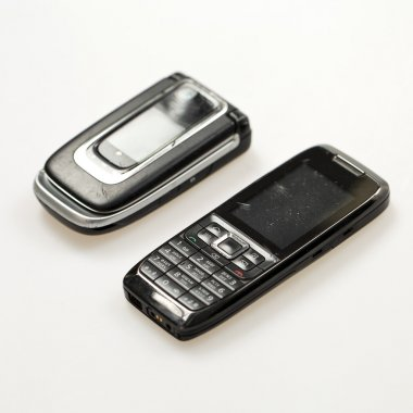 Two old mobile phone