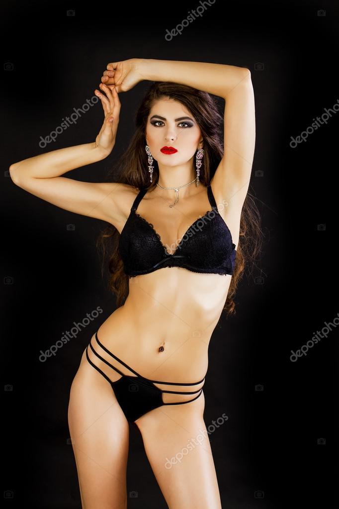 Sexy professional lingerie models