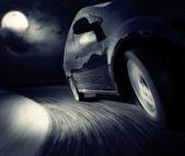 Fotografie Auto wiederum schwarz