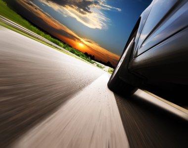 design background Trucks and transport