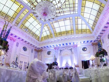 Gorgeous banquet hall