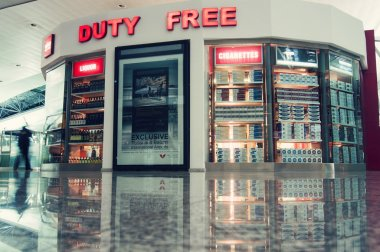Duty Free shop in Tbilisi Airport