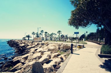 Seafront in Limassol, Cyprus
