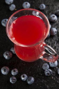 Blueberry mors drink