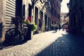 Photo Narrow street in Arco, North Italy