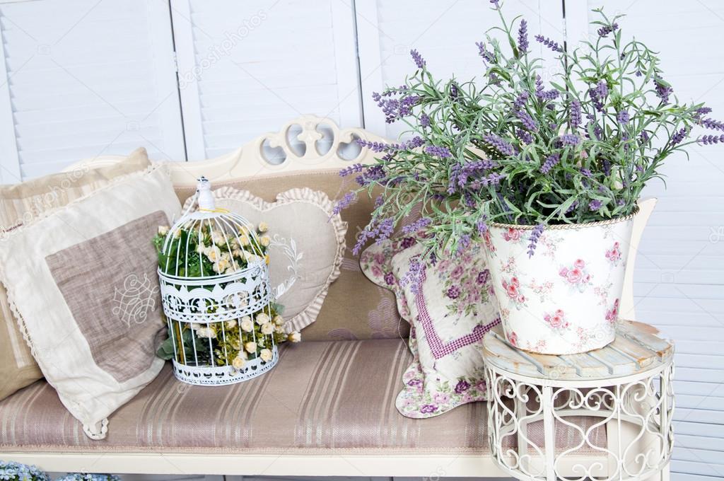 Home Decor In Provence Style Stock Photo Nanka Photo 91134030