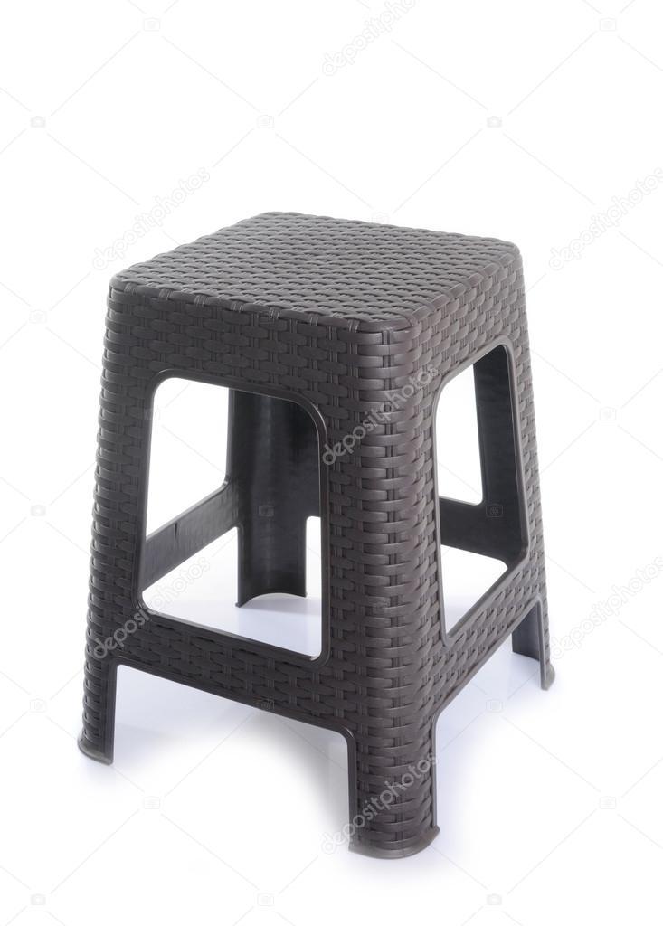 Fantastic Plastic Backless Stool On White Background Stock Photo Evergreenethics Interior Chair Design Evergreenethicsorg