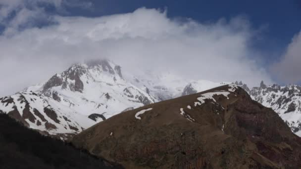 Snow Covered Mountain Kazbek