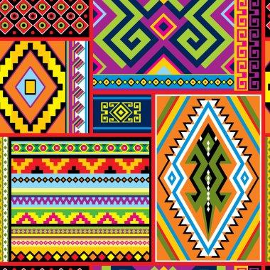 mexican decor  seamless