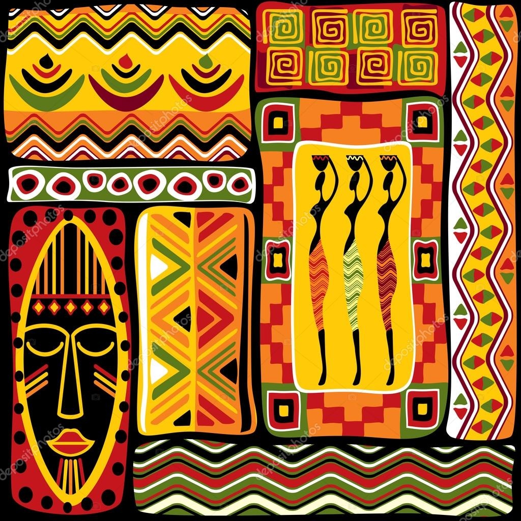 African Design Elements Stock Vector 169 Print2d 84336688