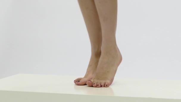 krásná žena nohy
