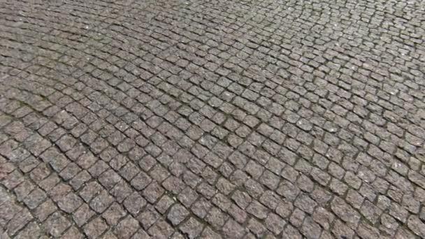Stone brick chodníku ulice