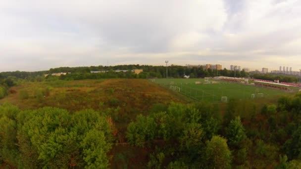 fotbollsstadion, Flygfoto