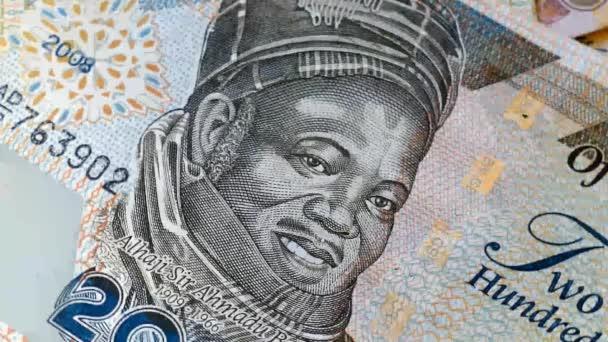 Nigerijský bankovky rotace