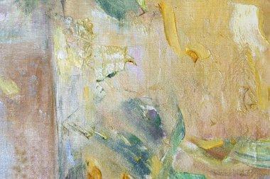 "Картина, постер, плакат, фотообои ""Цветные пятна масляные краски на холсте"", артикул 70842943"