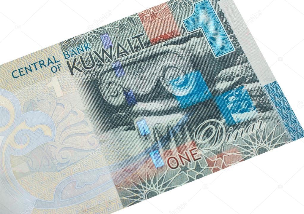 1 Kuveyt Dinarı Banknot Stok Foto Gsdonlin 95072682