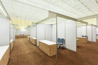 Trade show interior