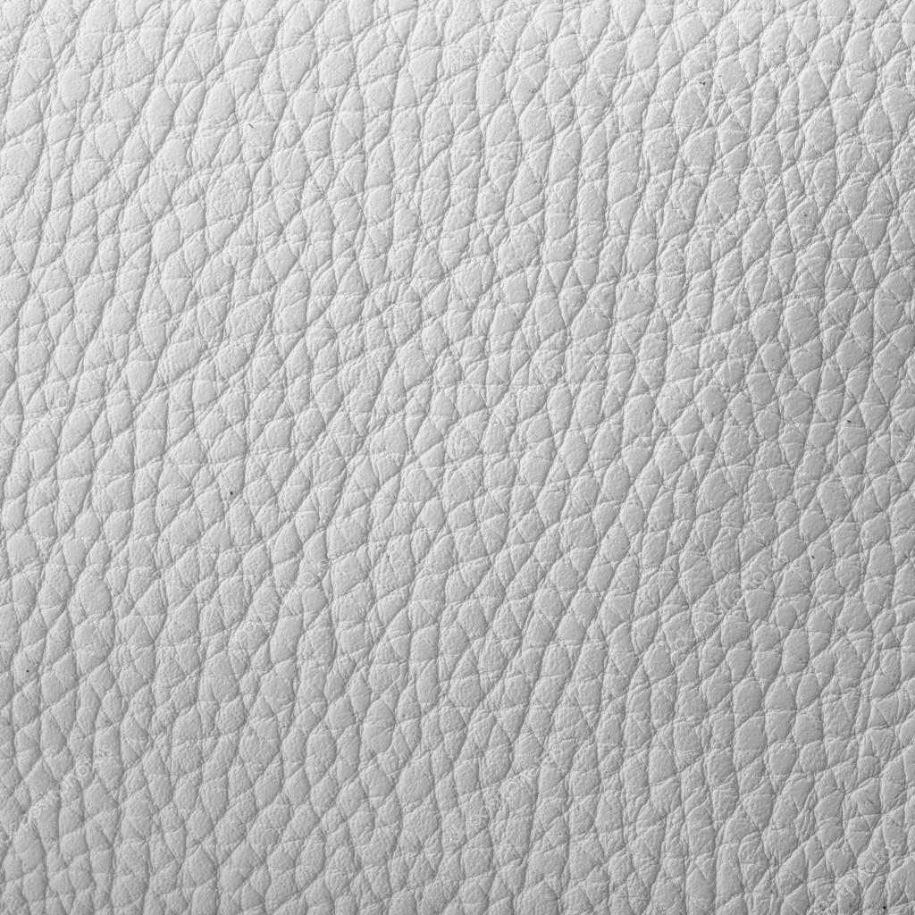 White Leather Background Or Texture Stock Photo