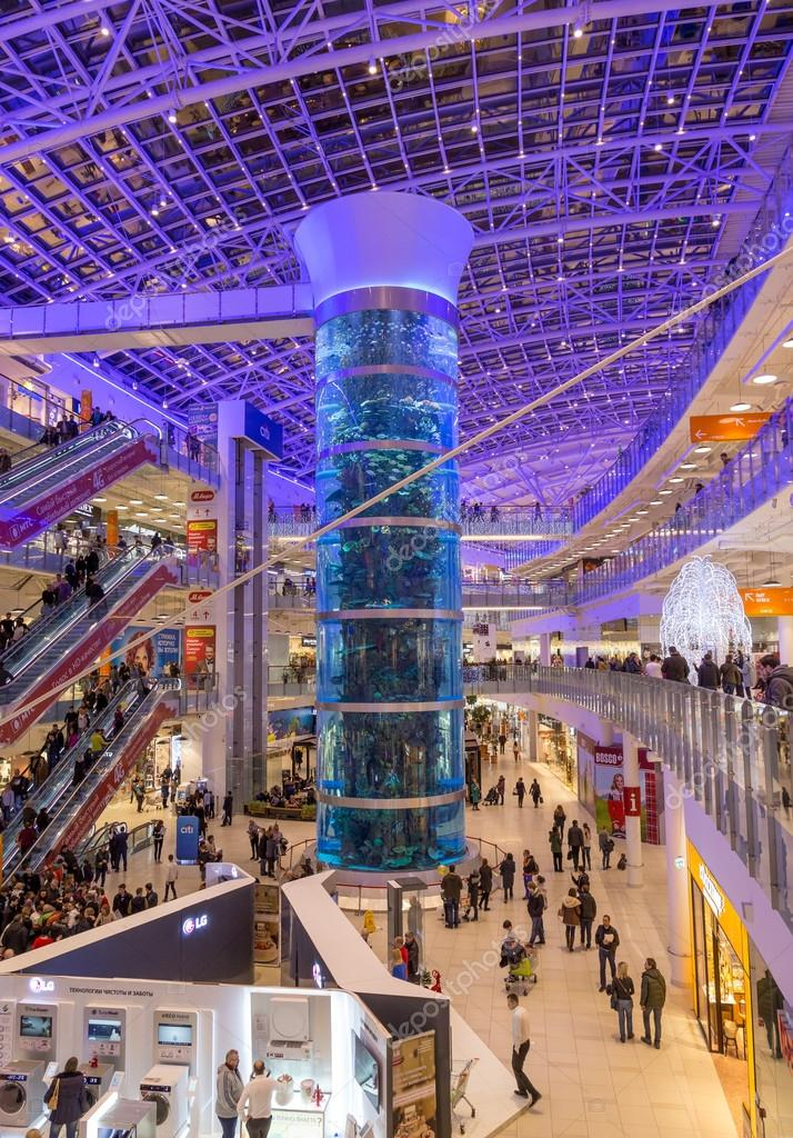 Interior of aviapark shopping mall in moscow stock editorial photo gilmanshin 92544402 for Interior alternatives manufacturers outlet mall