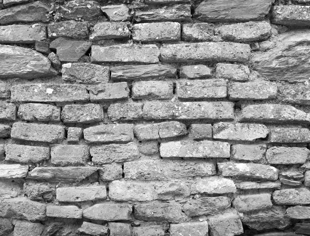 Old wall of stone bricks background — Stock Photo © gilmanshin #99270642