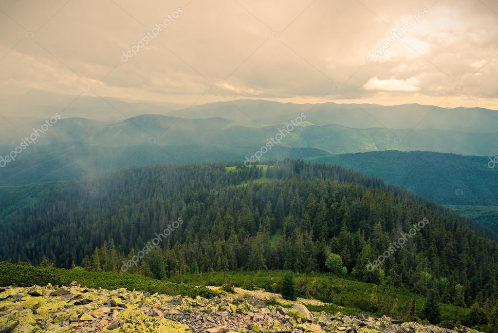 Ukrainian Carpathian Mountains