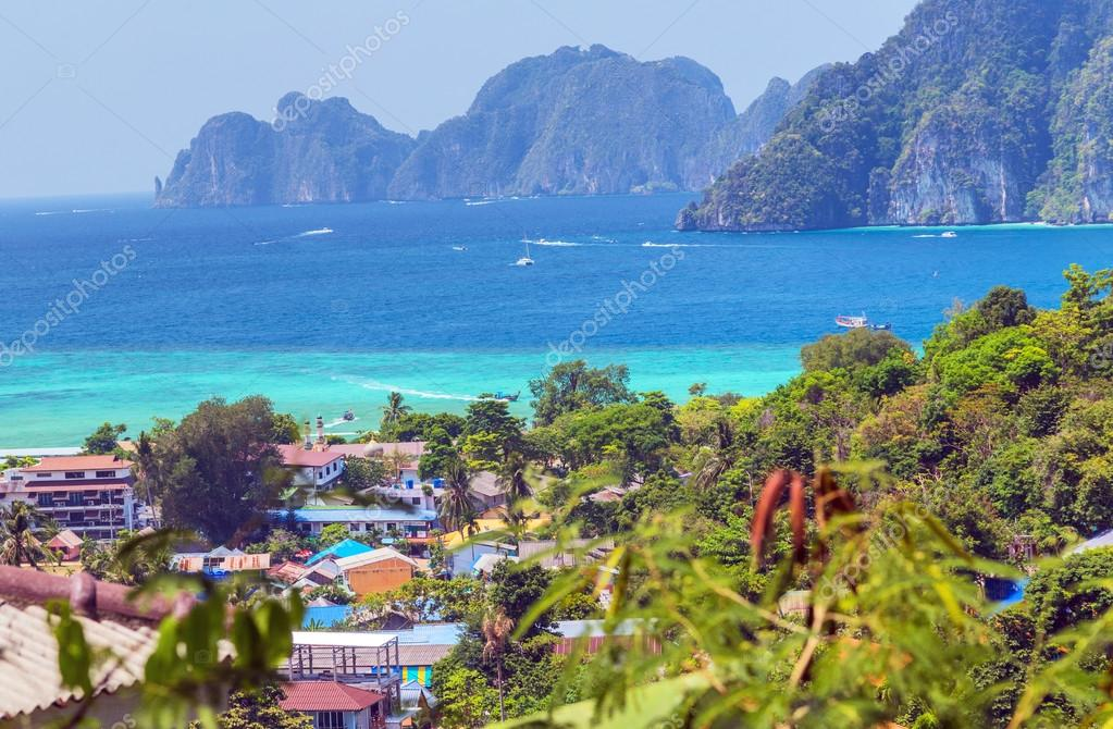 View Point Koh Phi Phi Don beach