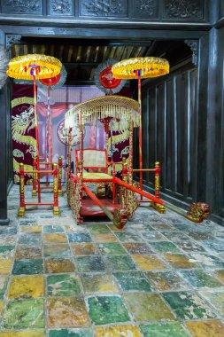 vietnamese buddha old temple.