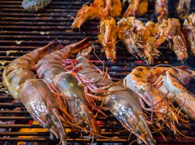 Tiger Shrimps BBQ