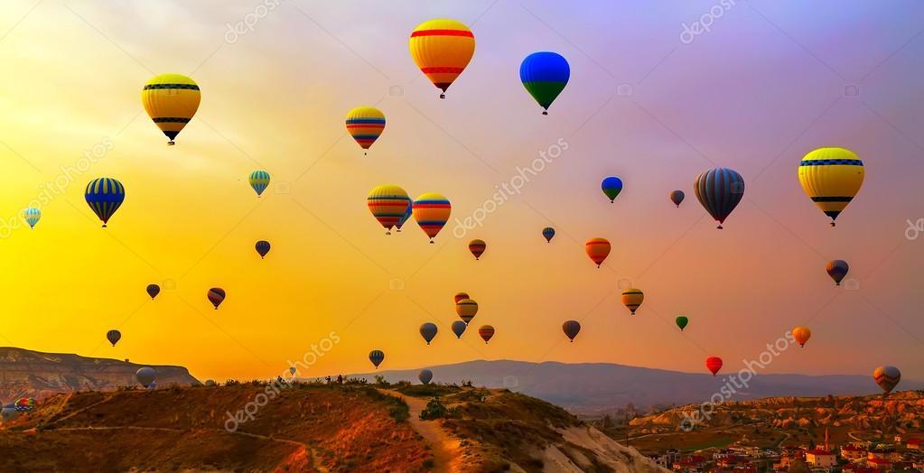 balloons Cappadocia Turkey.