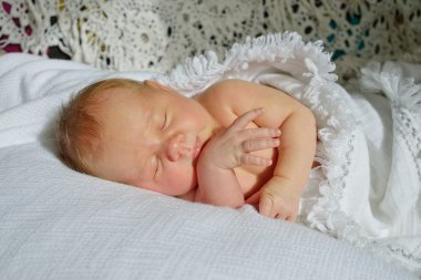 sweet little newborn