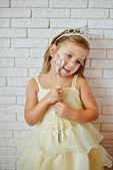 Photo cute little princess