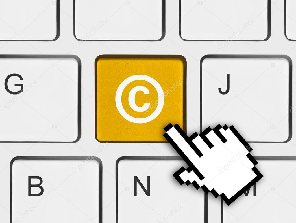Computer keyboard with copyright symbol stock photo violin computer keyboard with copyright symbol business concept photo by violin biocorpaavc Gallery