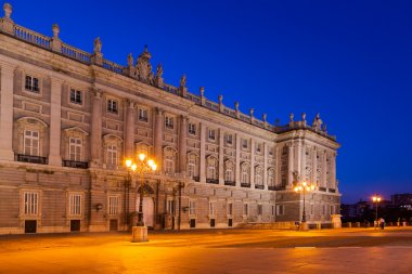 Royal Palace at Madrid Spain