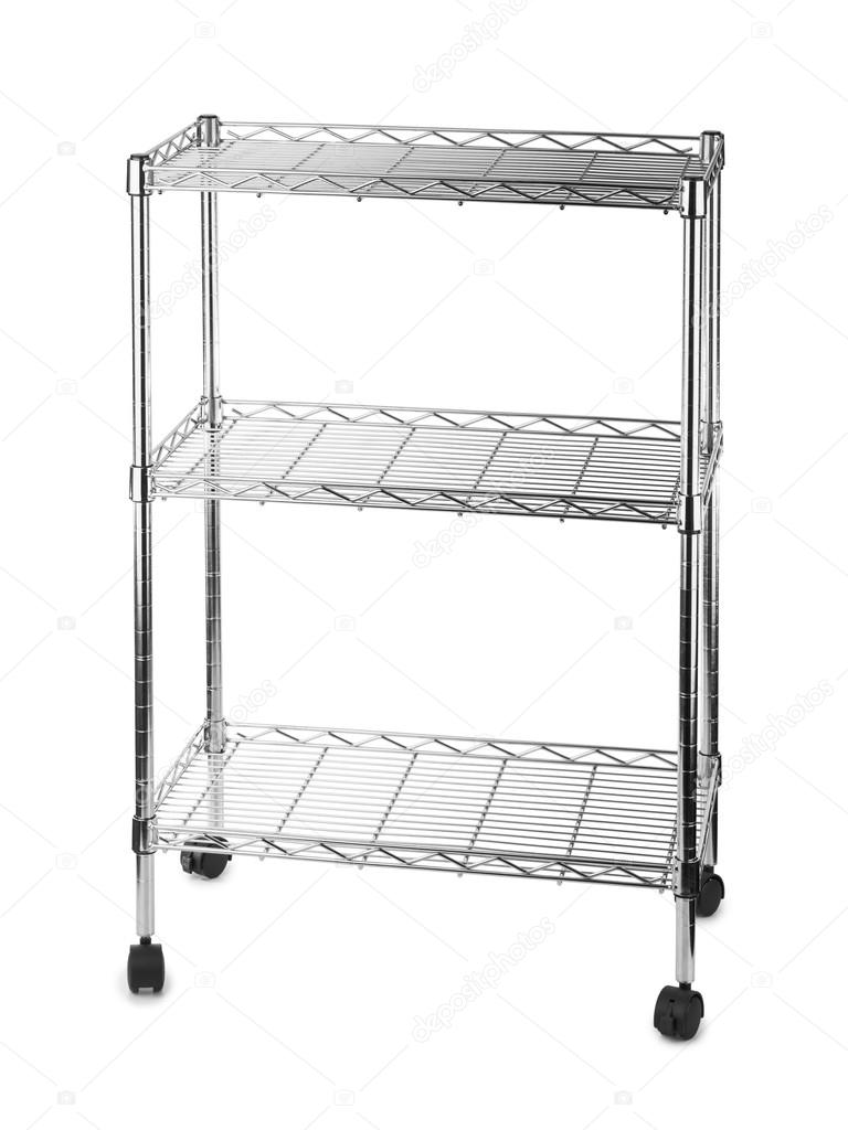 rack de estantes de metal Foto de stock Violin 69765445