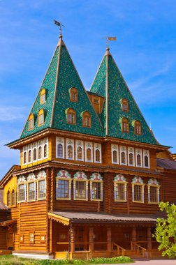 Wooden palace of Tsar Alexey Mikhailovich in Kolomenskoe - Mosco