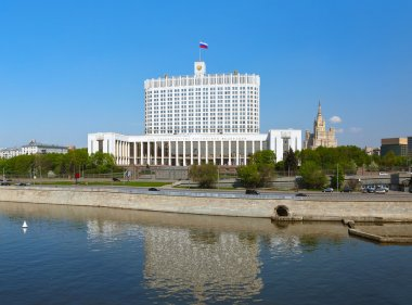 White House - center of Russian government - Moscow Russia