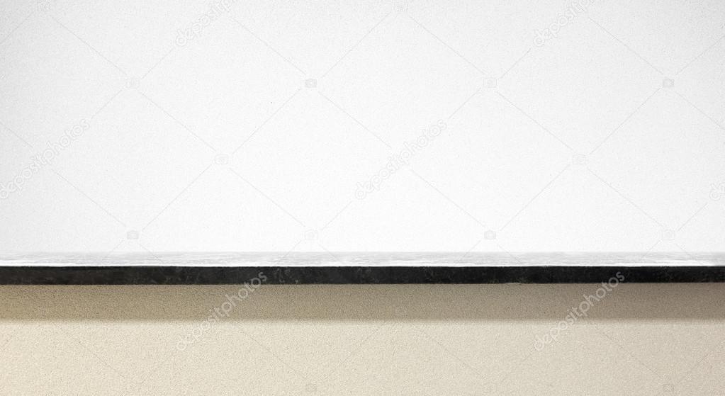Granit Fensterbank auf weiß — Stockfoto © Olegkalina #62690171