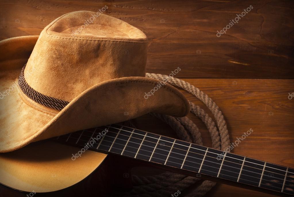 Country Music Background With Guitar Stock Photo C Geraktv 64405309