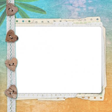 Greeting card with space for text