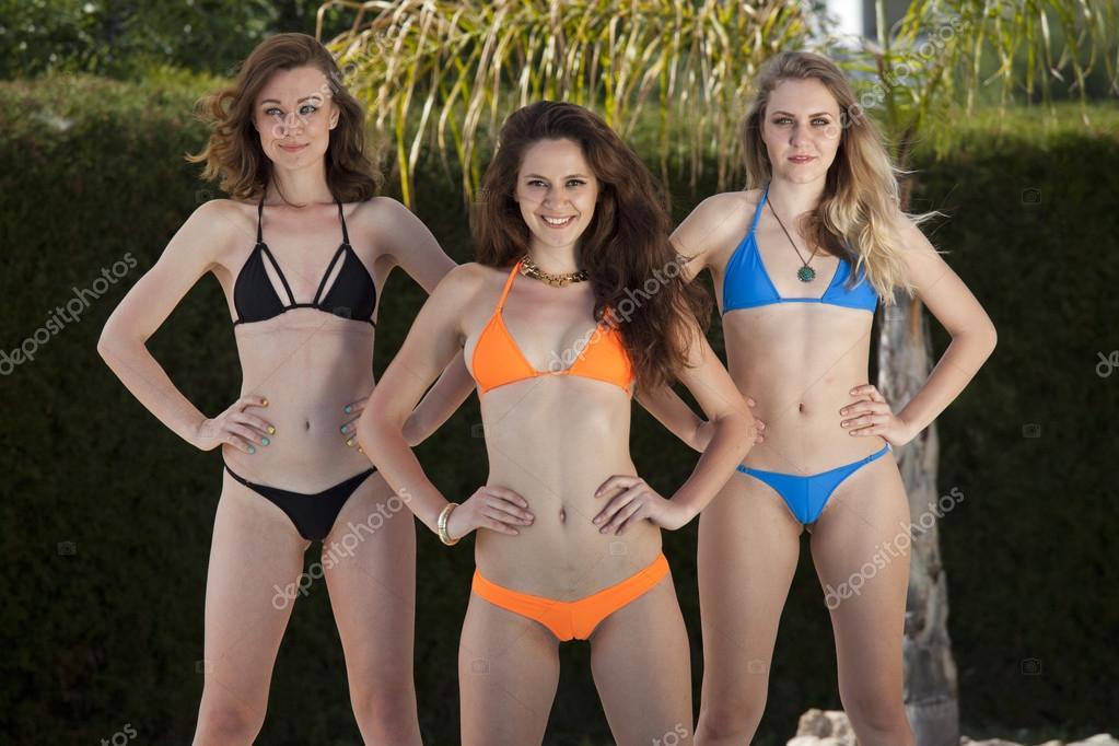 Girls bikini Watch College