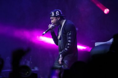 Rap concert of Tyga in Moscow